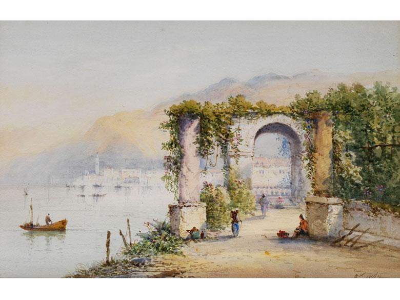 Edwin John, englischer Maler des 19. Jahrhunderts