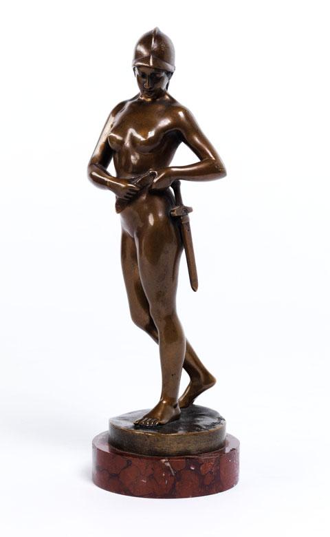Richard W. Lange, deutscher Bildhauer des 19./ 20. Jahrhunderts