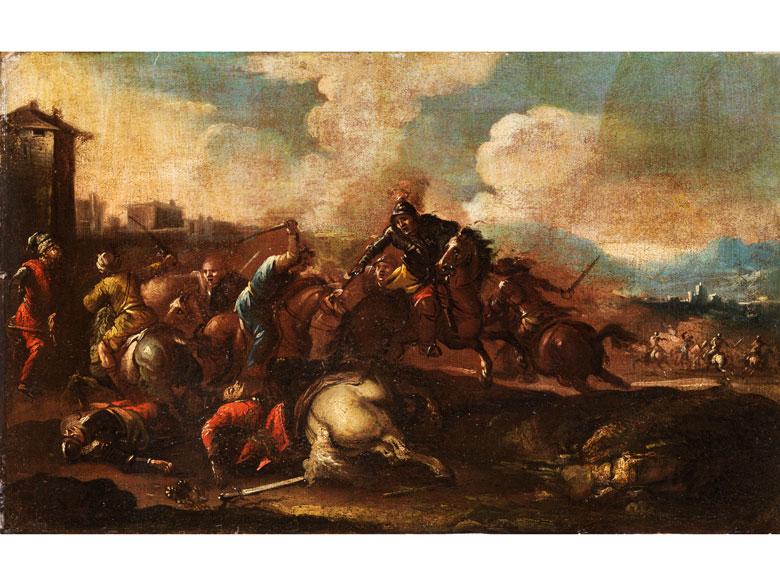 Maler des 17. Jahrhunderts im Umkreis/ Nachfolge des Jacques Courtois