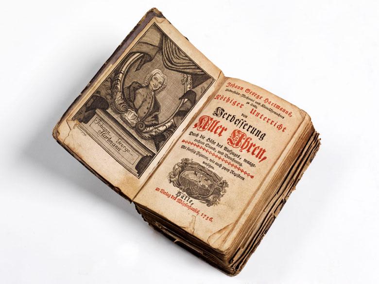 Buch über mechanische Uhren von 1756 mit 16+1 Kupfern
