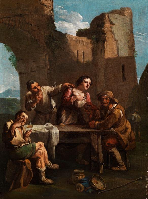 Paolo Monaldi, 1725 Rom - 1780, zug.