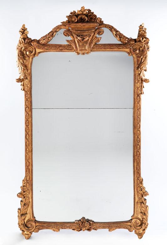Prachtvoller Louis XVI-Spiegel