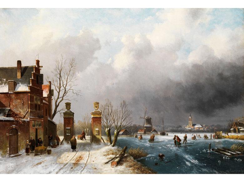 Charles Henri Joseph Leickert, 1818 Brüssel - 1907 Mainz