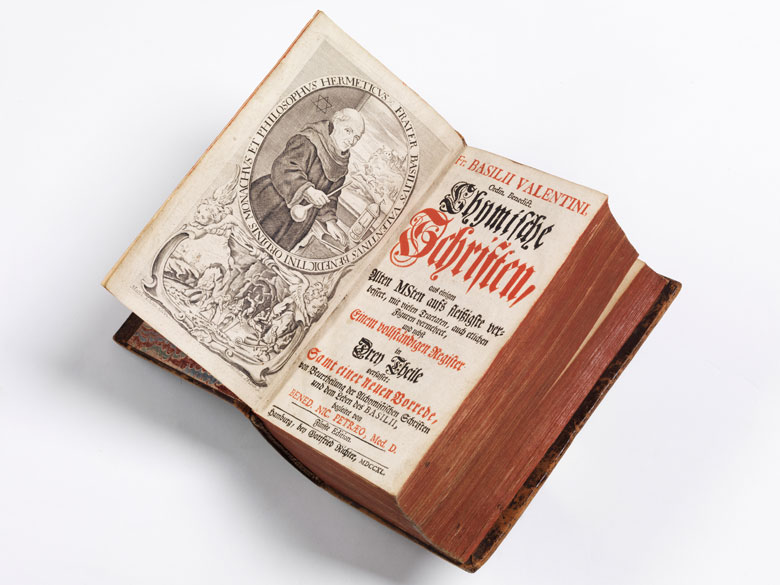 Alchemiebuch mit 20 Kupfern!