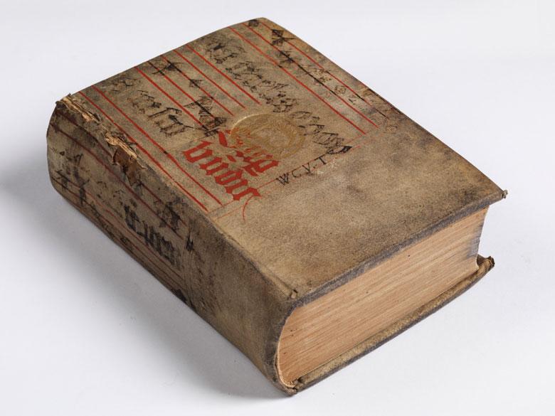 Erasmus Dialoge 1538 - Exemplar von Friedrich I. von Sachsen-Gotha-Altenburg