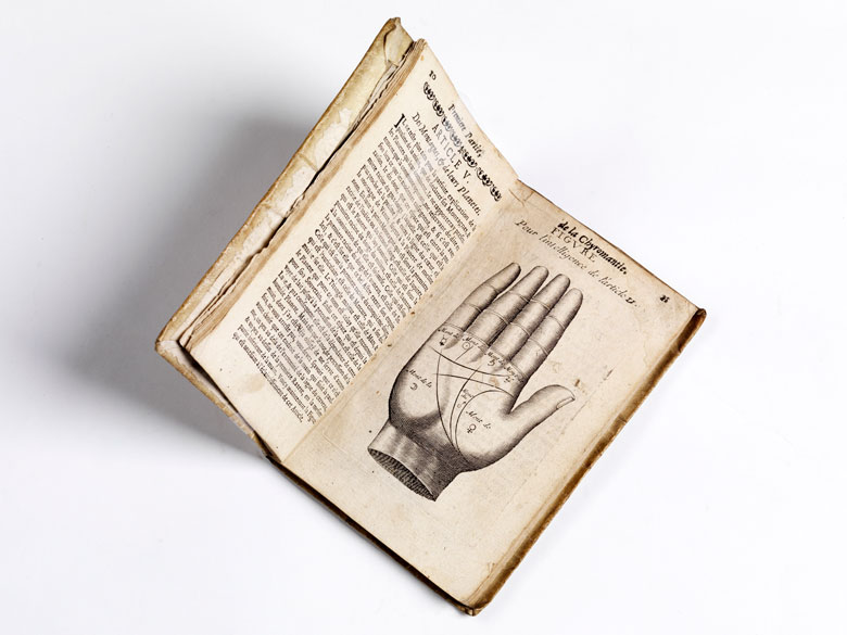 Handlesekunst von 1671 mit 6 Kupfern
