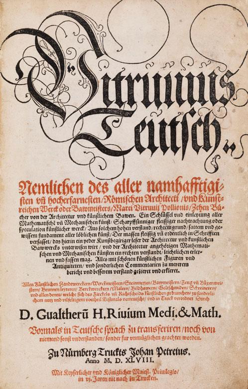 Vitruvius (Pollio, M.).