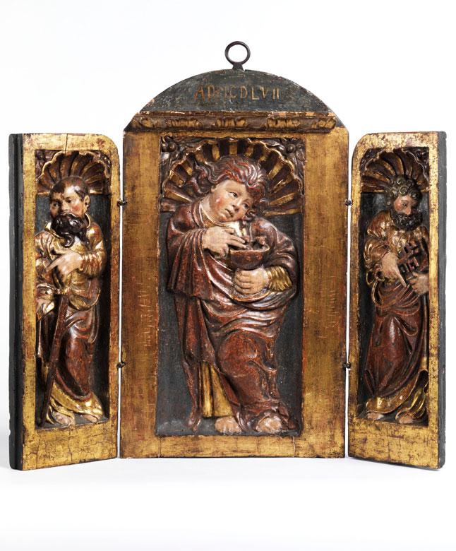Relief-Triptychon