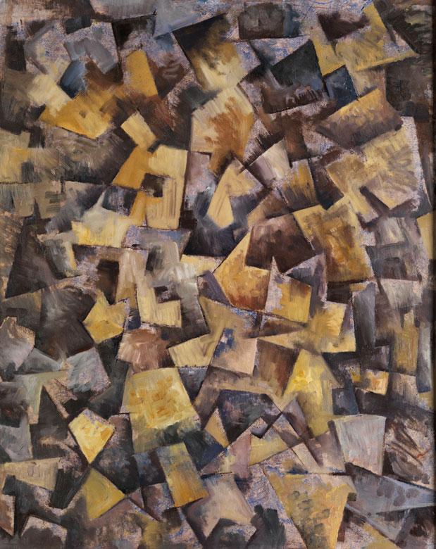 Kubistischer Maler des 20. jahrhunderts