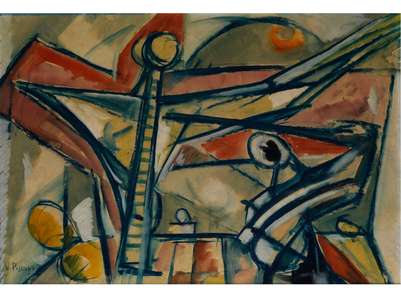 Vittorio Piscopo, Maler des 20. Jahrhunderts