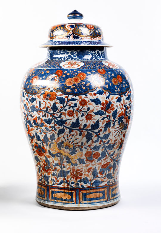 Große chinesische Porzellanvase