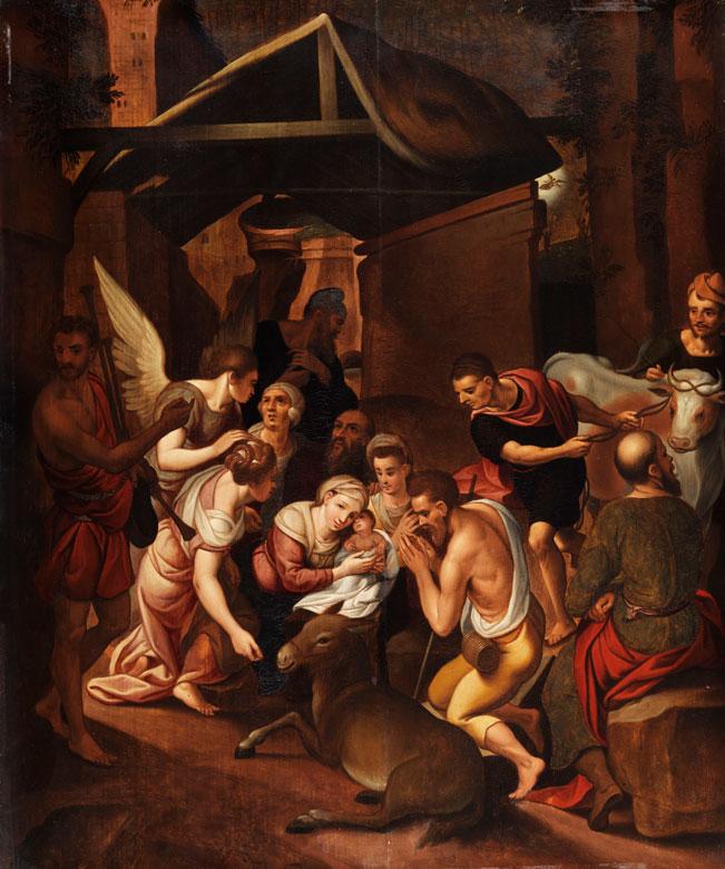 Flämischer Maler des 17. Jahrhunderts in Art von Frans Floris