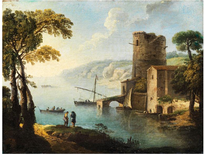 Paolo Anesi, 1700 - 1761, zug.