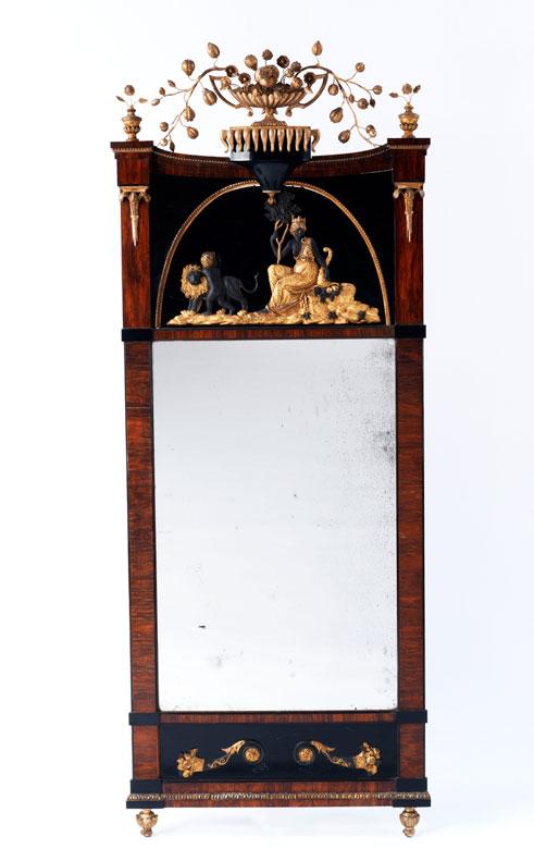Klassizistischer Wiener Wandspiegel
