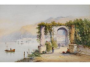 Detail images:  Edwin John, englischer Maler des 19. Jahrhunderts