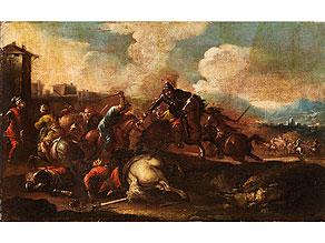 Detail images:  Maler des 17. Jahrhunderts im Umkreis/ Nachfolge des Jacques Courtois