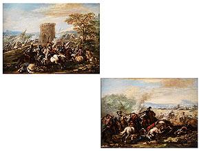 Detail images:  Francesco Graziani, tätig in Napoli, 18. Jahrhundert, zug.