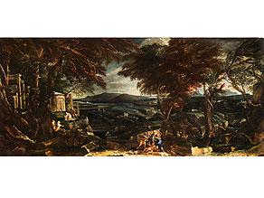 Detail images:  Italienischer Maler aus dem Künstlerumkreis von Alessandro Magnasco, 17. Jahrhundert
