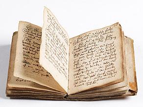 Detail images:  Manuskript von 1681 zu Medizin und Heilkräutern