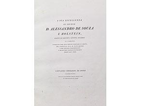 Detailabbildung:  Bodoni in Parma mit 40 Kupfern