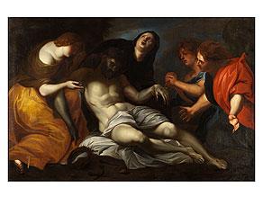 Detail images:  Flämischer Maler in der Nachfolge des Anton van Dyck