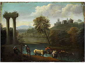 Detail images:  Herman van Swanevelt, 1600 Utrecht - 1655 Paris, Art des/ zug.