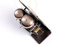 Detail images: Rokoko-Standuhr