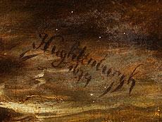 Detail images: Jan van Huchtenburg, 1647 Haarlem - 1733 Amsterdam