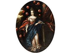 Detail images: Lombardischer Hofportraitist des 17. Jahrhunderts