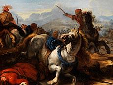 "Detailabbildung: Jacques Courtois, genannt ""Borgognone , 1621 Saint-Hippolyte - 1676 Rom"