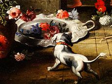 Detail images: Abraham Brueghel, 1631 - 1690