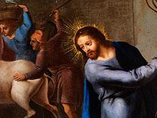 Detail images: Römischer Maler des 17. Jahrhunderts