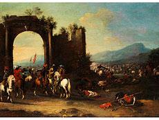 Detail images: Pandolfo Reschi, 1643 Danzig - 1693 Florenz, zug.