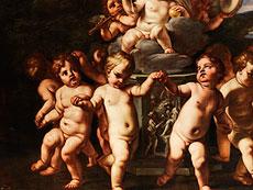Detail images: Carlo Cignani, 1628 - 1719, zug.