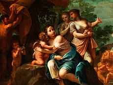 Detail images: Marc Antonio Franceschini, 1648 - 1729, zug.