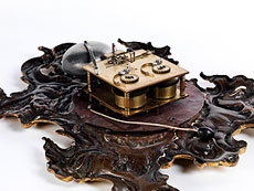 Detail images: Rokoko-Kaminuhr