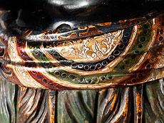 Detail images: Paar Konsolen mit Mohrenknaben
