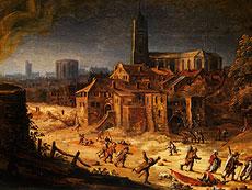Detail images: Hendrick Avercamp, 1585 - 1664