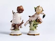 Detail images: Porzellanfigurenpaar