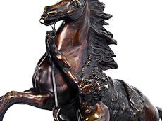 Detail images: Paar Bronzefigurengruppen