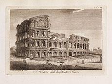 Detail images: Mit Karte und 65 römischen Ansichten in Kupferstich