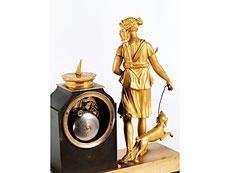 Detail images: Französische Kaminuhr
