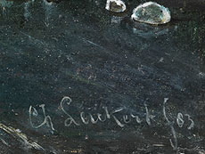 Detail images: Charles Henri Joseph Leickert, 1818 Brüssel - 1907 Mainz