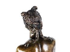 Detail images: Bronzefigur einer nackten Venus