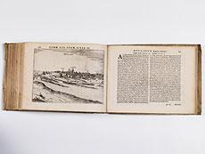 Detail images: Mit 26 Karten und 101 Stadtansichten in Kupferstich