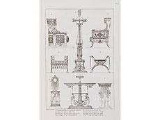 Detail images: Percier, C. u. P. F. L. Fontaine
