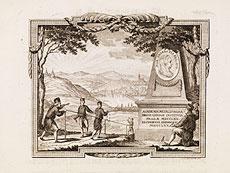 Detail images: Bergbau in Prag mit Kupferstichen und Karte