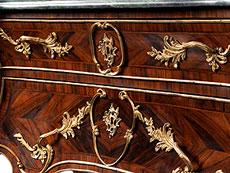 Detail images: Herrschaftliche Prunkkommode