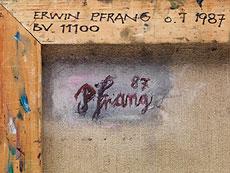 Detail images: Erwin Pfrang, (1951) Maler des 20. Jahrhunderts