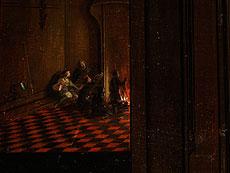 Detail images: Hendrick van Steenwyck d. J.; um 1580 - 1649, zug. Flämischer Architekturmaler